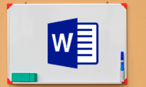 Microsoft word training image