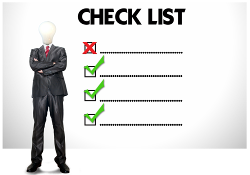 training checklist image