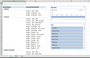 Excel 2013 screenshot
