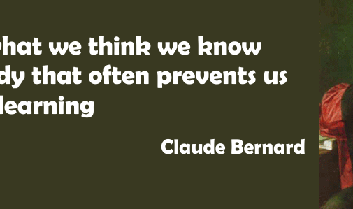 Claude Bernard Quote